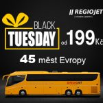 Jízdenky z Čech do Švýcarska za 199 Kč / 7,99 Euro jen dnes, jen online. Black Tuesday na Regiojetu.