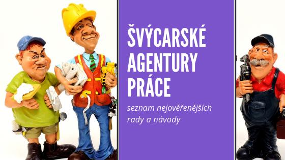 pracovni agentury ve Svycarsku