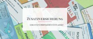 Zdravotní připojištění – Zusatzversicherung. Pro koho se vyplatí, kdy je dobré jej mít a co to vlastně je