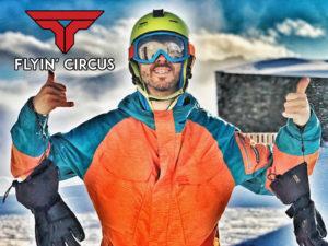Flyin Circus intruktor snowbardingu Svycarsko