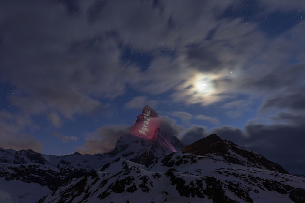 Italien sagt danke, Matterhorn, Frank Schwarzenbach